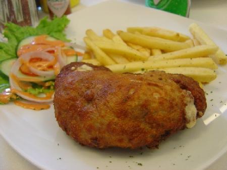 French recipe for chicken cordon bleu