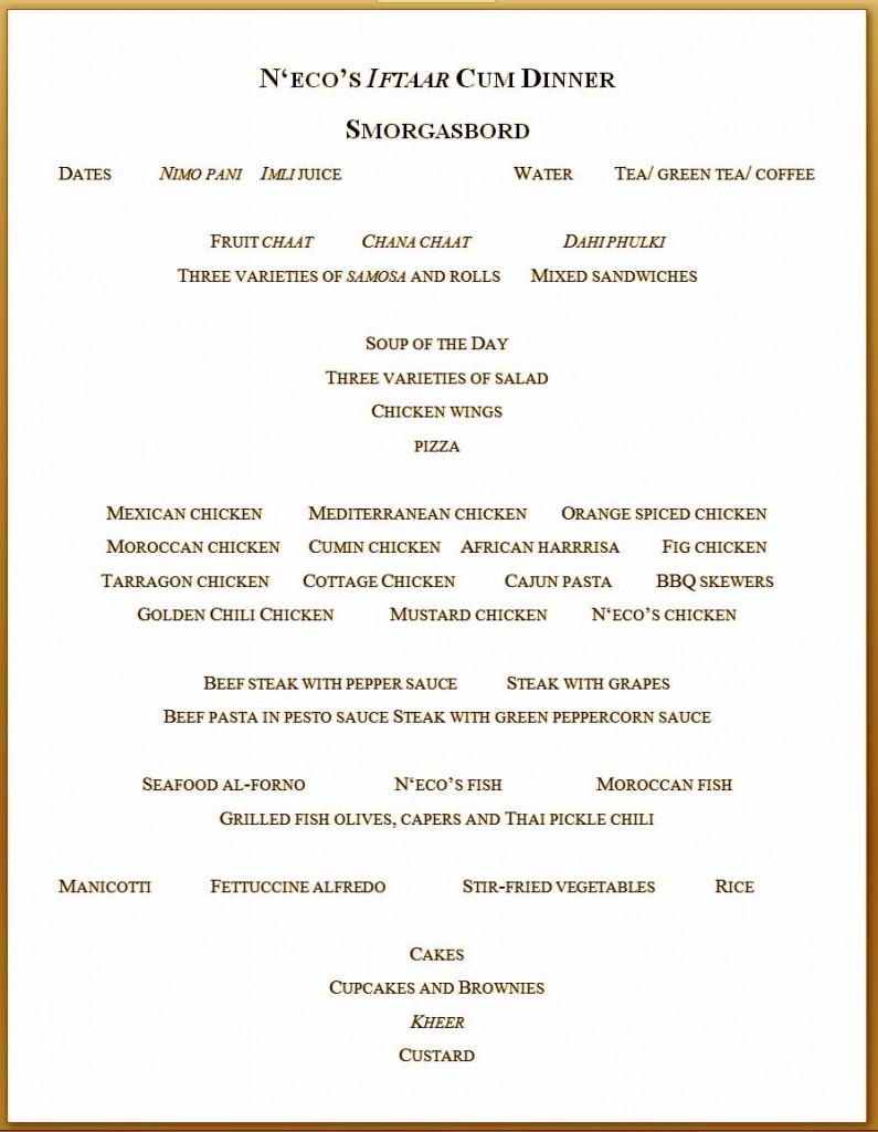necos-ramazan-menu
